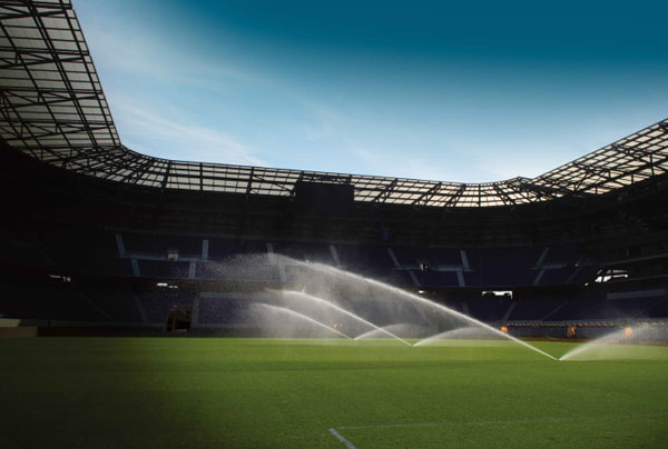 Sport ground irrigation